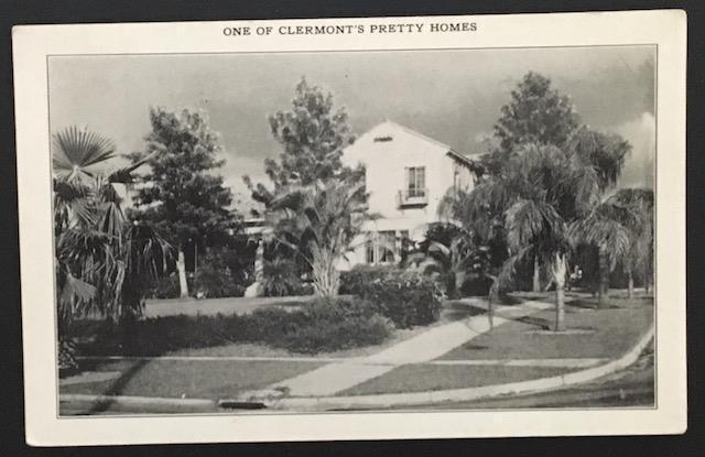 One of Clermont's Pretty Homes 1936 Skinner & Kennedy Staty Co
