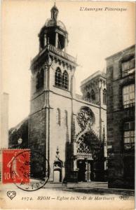 CPA RIOM .- Eglise du n.d  (197913)