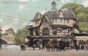 HAMBURG , Germany , 1907 ; St Pauli Fahrhaus