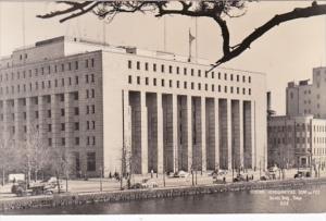 Japan Tokyo General Headquarters Scap and Fec Dai-Ichi Building Real Photo
