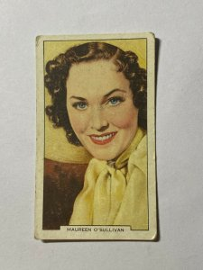 CIGARETTE CARD - GALLAGHER MY FAVOURITE PART #48 MAUREEN O SULLIVAN   (UU379)
