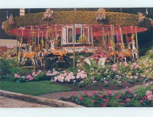 Pre-1980 SONOMA COUNTY FAIR CAROUSEL Santa Rosa California CA AD2968