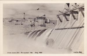 RP: Chief Joseph Dam , BRIDGEPORT , Washington , 1954