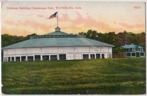 Coliseum, Chautauqua Park, Waterloo IA