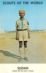Scouts of the World: Sudan (1968 Boys Scouts of America) Uniform