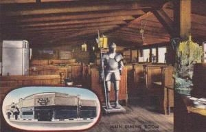 Massachusetts Fitchburg Ye Olde Oyster Bar Restaurant Main Dining Room