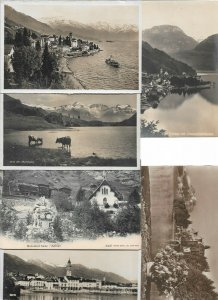 Switzerland Brissago Oberblegisee Zermatt and more Postcard Lot of 17 01.12
