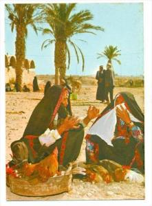 Arab women at the Market Day, ISRAEL, 50-70s