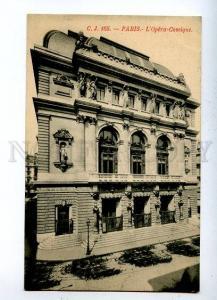 131598 FRANCE PARIS L'Opera-Comique Vintage postcard