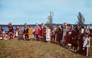 ME - Perry, Pleasant Point Indian Reservation. Passamaquoddy Indian Dancers