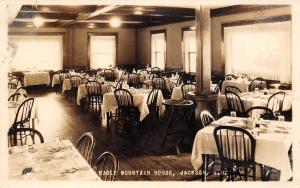 Jackson New Hampshire~Eagle Mountain House~Dining Room Interior~1926 RPPC