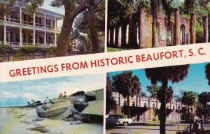 South Carolina Historic Beaufort County Greetings From Historic Beaufort