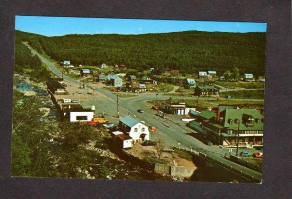 PQ  Riviere Noire St Simeon Charlevoix Postcard Carte Postale Quebec Canada