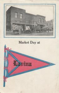 LAVINA , Montana , 1910 ; Market Day