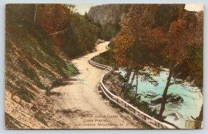 Lake Placid NY Handcolored~Adirondack Mts~Ausable River~Wilmington Notch~c1910