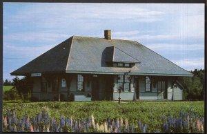 Prince Edward Island ELMIRA Station Museum Railway C.N.R. - Chrome