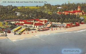 Fla. Palm Beach, Exclusive Bath and Tennis Club, Panorama