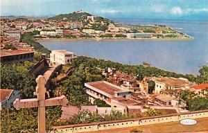 Macau Postcard Praia Grande Nam Wan Bay