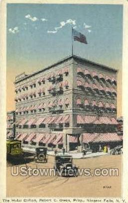 Hotel Clifton Niagara Falls NY Unused