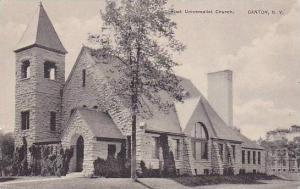 First Universalist Church, Canton,  New York,  PU-1947