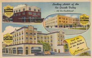 RIO GRANDE Valley , Texas , 1930-40s ; Leading Hotels
