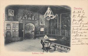 Italy South Tyrol Sterzing Rathhaus Saal