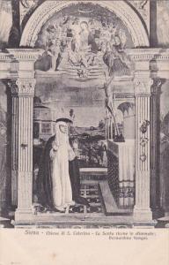 Chiesa Di S. Caterina, La Santa Riceve Le Stimmate; Bernardino Fungai, SIENA ...