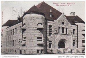 Mabel Tainter Memorial Menomonie Wisconsin 1911