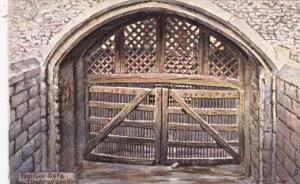 TUCK 6260: LONDON, England , 1900-10s; Traitor's Gate, Tower of London