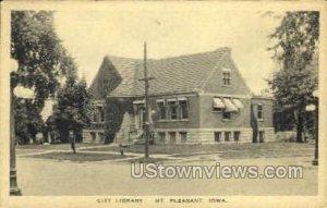 City Library - Mount Pleasant, Iowa IA