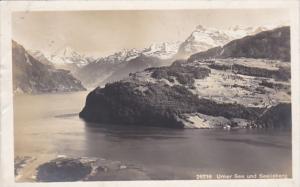 Switzerland Urner See und Seelisberg 1923 Photo
