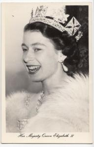 Royalty; Her Majesty Queen Elizabeth II RP PPC By Tuck, Unposted, c  1953