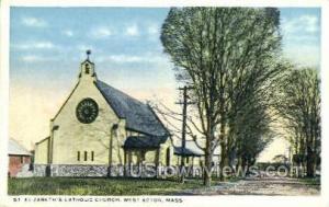 Elizabeth's Catholic Church West Acton MA Unused