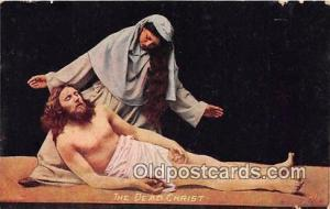 Religion Postcard  Dead Christ