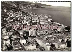 Modern Postcard Menton (A M) General view on the 2nd level in Italy