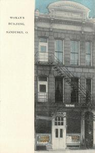 Sandusky OH~Women's Rest Room Bldg~Fire Escapes~Dining Room~Industrial Dept 1908