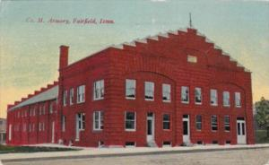 Iowa Fairfield Company M Armory 1914