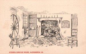 Kitchen,Carlyle House,Alexandria,VA