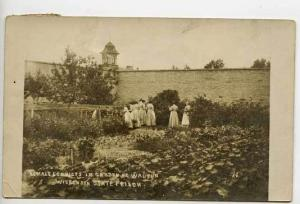 Waupun WI Female Convicts State Prison RPPC Postcard