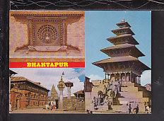 Multi View Bhaktapur,Nepal Postcard BIN