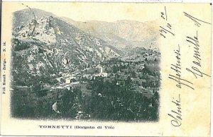 CARTOLINA d'Epoca - TORINO :  TORNETTI - VIU' 1901