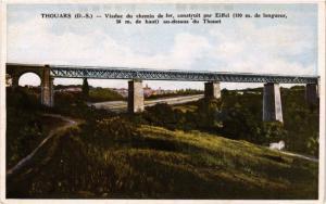 CPA THOUARS (D S.) - Viaduc du chemin de fer construit par Eiffel (297449)
