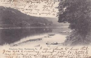 Scenic view,  Allegheny River,  Rockwood,  Pennsylvania,  PU_1907