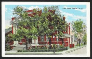 Elks Home Marion Illinois Unused c1920s