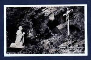 OR Grotto Our Sorrowful Mother PORTLAND OREGON RPPC