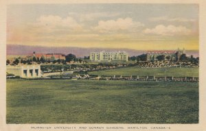 HAMILTON , Ontario , 1930s ; McMaster University & Sunken Gardens