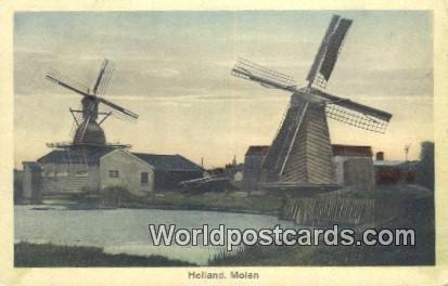 Molen Holland Netherlands Unused