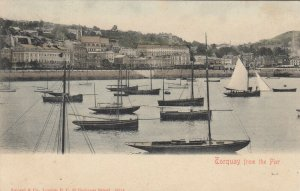 TORQUAY , Devon , England , 1904 ; From the Pier