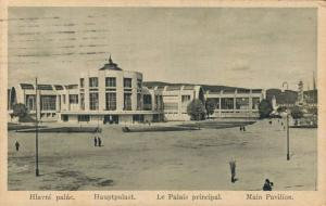 Czech Republic - Pohlednice - Brno. Hlavní palác s alejí Posted 02.63