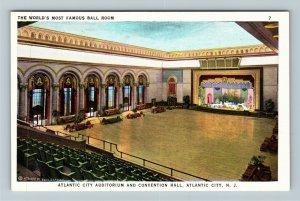 Atlantic City NJ-New Jersey Atlantic City Auditorium Convention Vintage Postcard